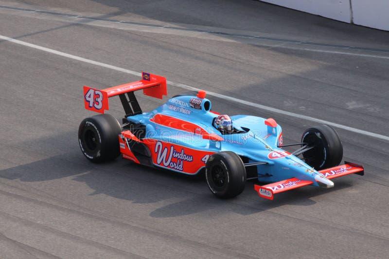 Tag John-Andretti Indianapolis 500 Pole Indy 2011 stockfotografie