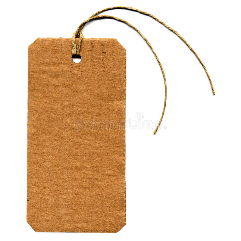 Download Tag label stock image. Image of string, identification - 10977709