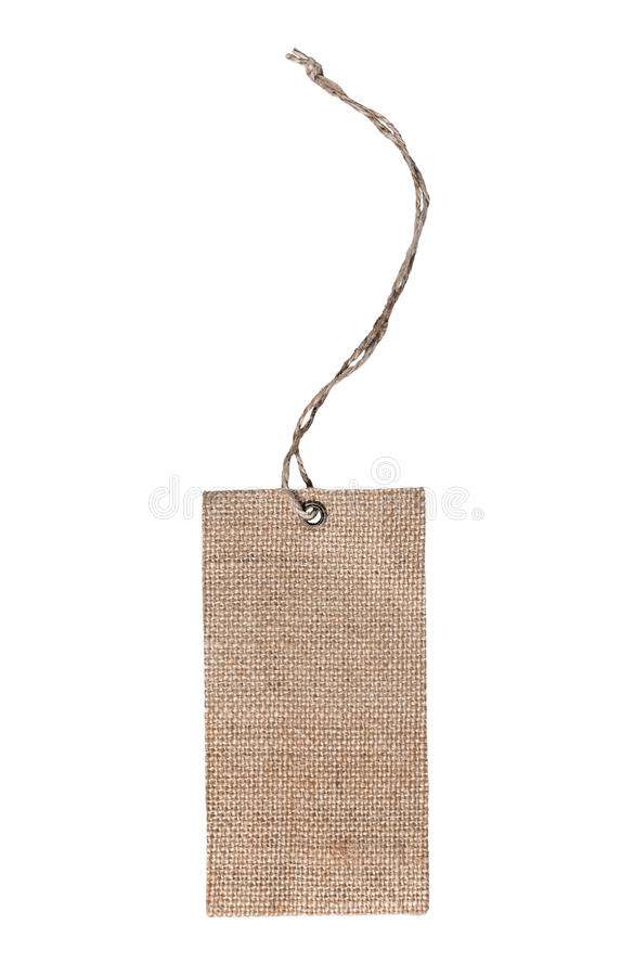 Tag label clothing royalty free stock photo