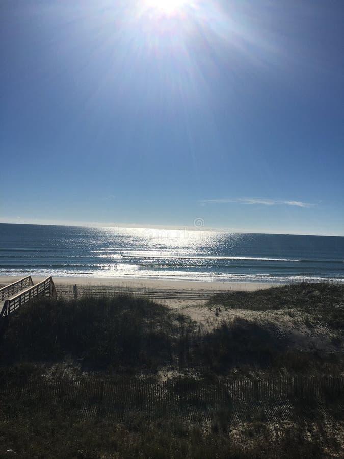 Tag am Strand lizenzfreie stockfotos
