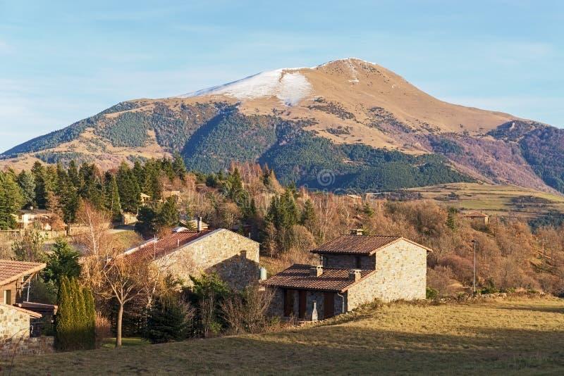 Tagapiek in de Catalaanse Pyreneeën stock fotografie