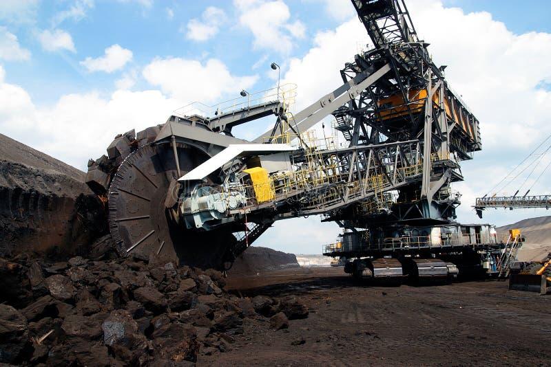 Tagebau lizenzfreie stockbilder