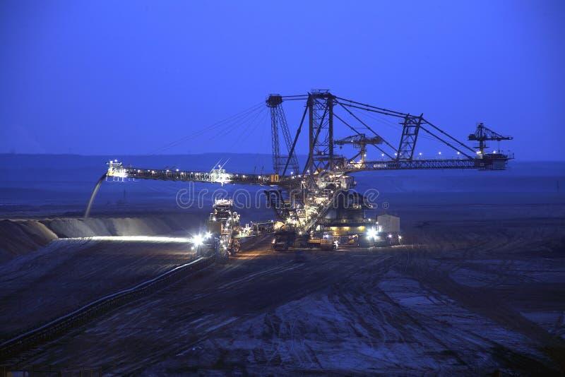 Tagebau stockfotos
