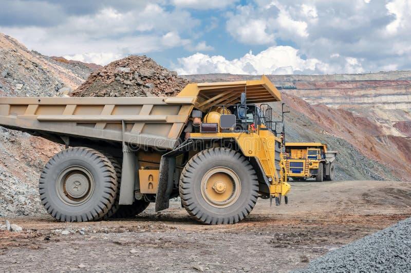 Tagebaubergwerk stockfoto