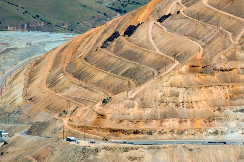 Tagebaugrube lizenzfreies stockfoto