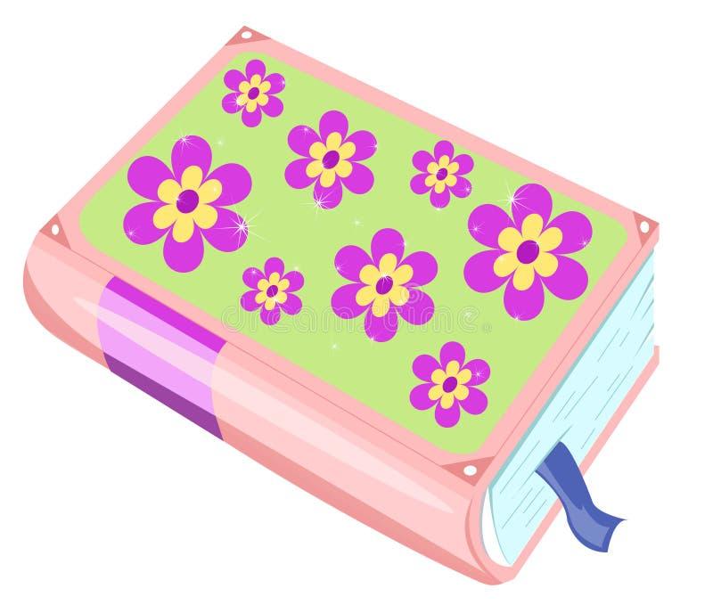 Tagebuch lizenzfreie abbildung