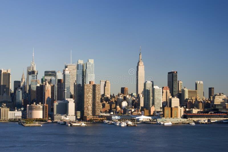 Tages-NY Skyline lizenzfreies stockbild