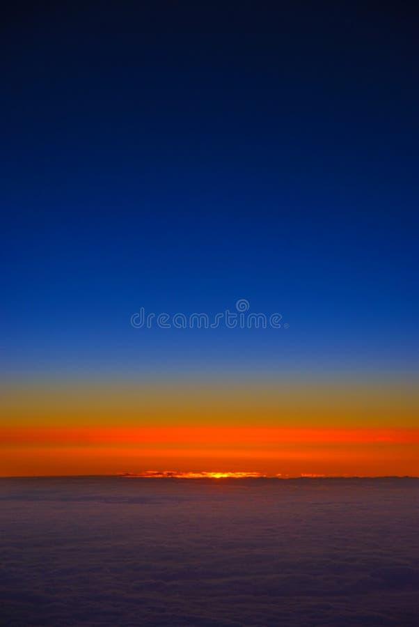Tagesanbruch stockfoto