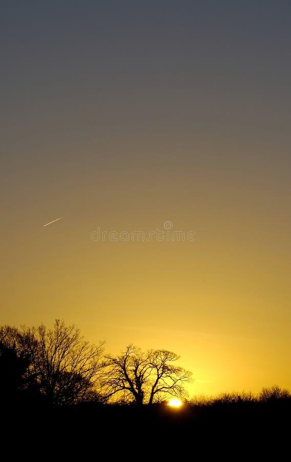 Tagesbruch stockbild