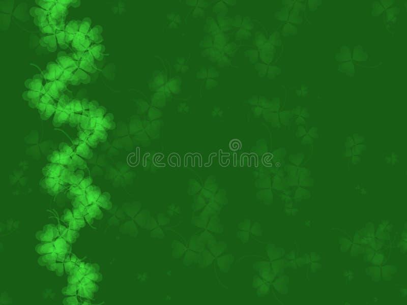 Tageshintergrund Str.-Patricks stock abbildung