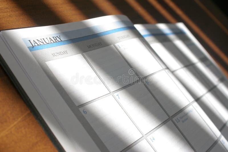 Tagesplaner lizenzfreie stockfotos