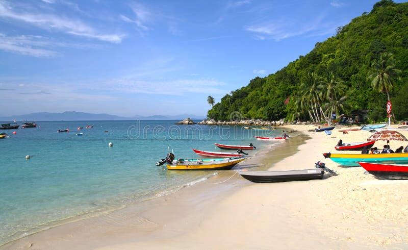 Tageszeit in Perhentian-Insel stockbild