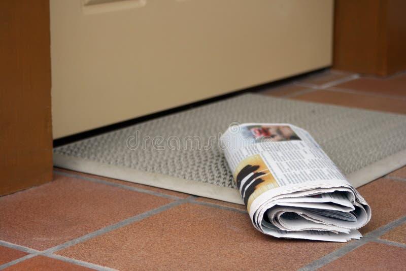 Tageszeitung stockbild