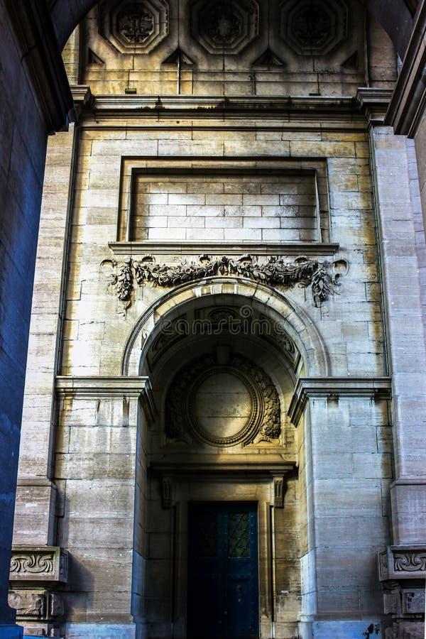 Taget i Genova, Italien royaltyfri fotografi