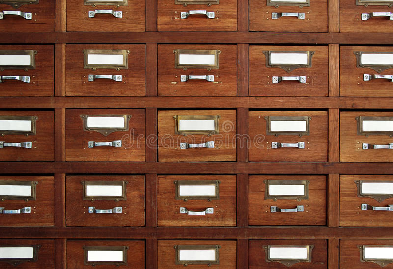 Download Tagged drawers stock image. Image of file, property, library - 14856177