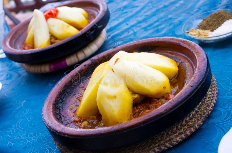 Tagine - типичное морокканское блюдо стоковые изображения