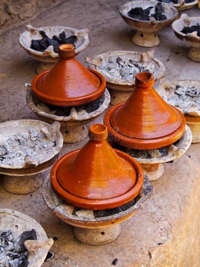 Tagine, Marrocos fotografia de stock royalty free