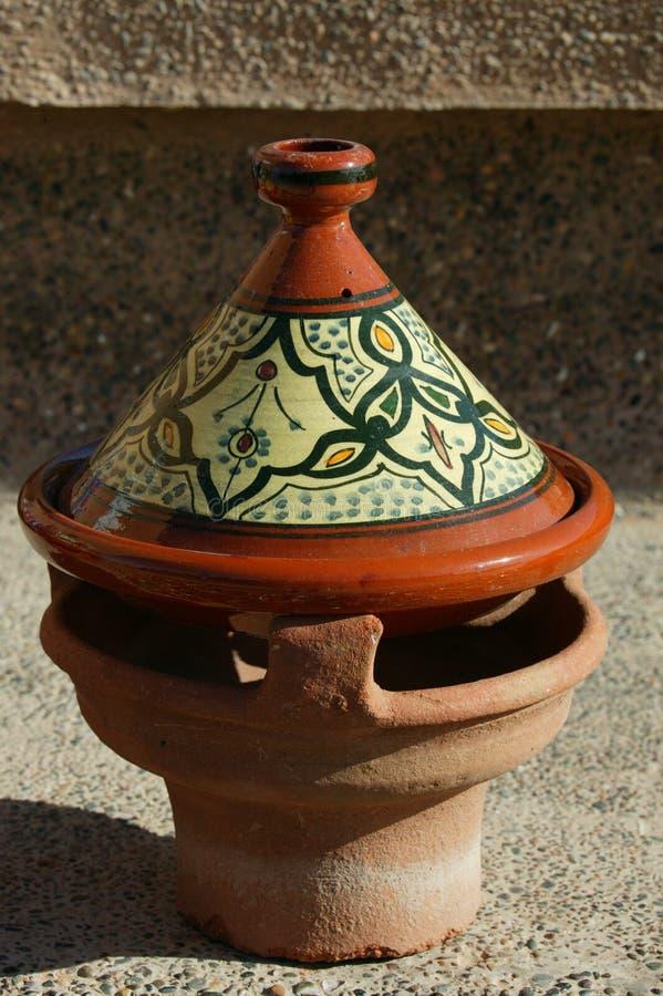 Tagine marroquino foto de stock
