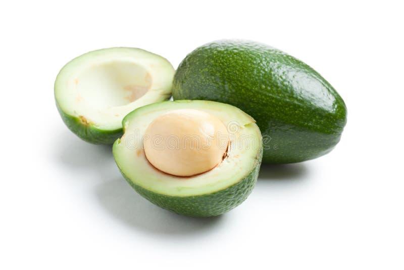 Tagli l'avocado fotografia stock