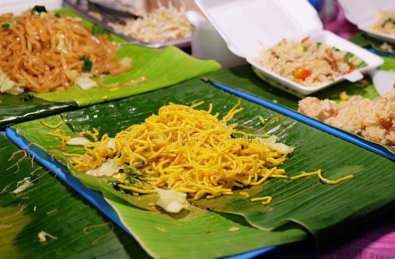 Tagliatella asiatica tradizionale dell'alimento, Tailandia immagine stock libera da diritti