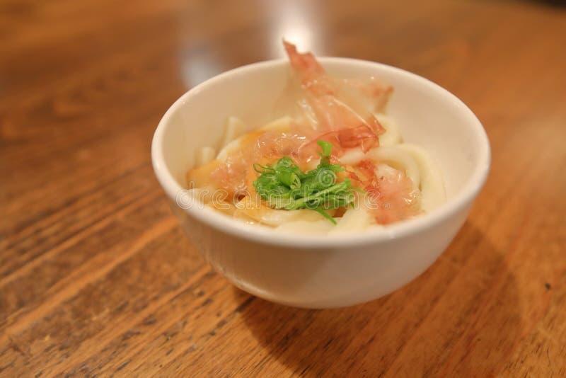 Tagliatella tradizionale giapponese Ise Japan di Ise Udon dell'alimento fotografia stock libera da diritti