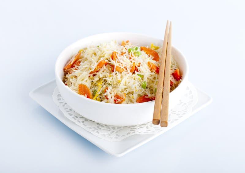 Tagliatelle di riso asiatiche immagini stock