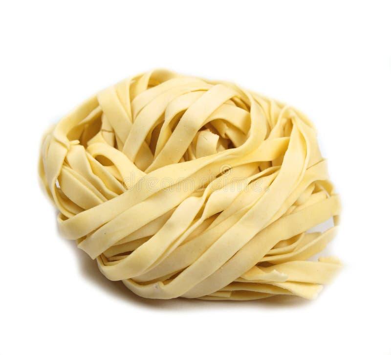 Tagliatelle italien de pâtes photographie stock