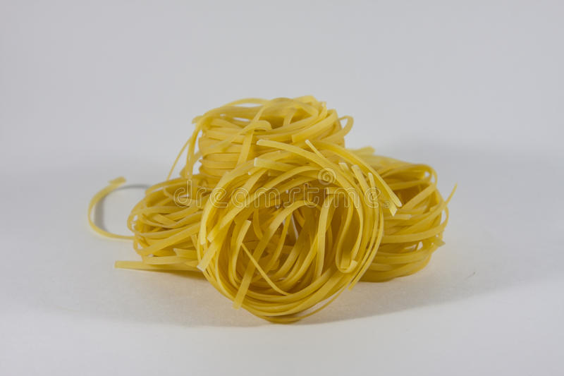 Tagliatelle pasta arkivbild