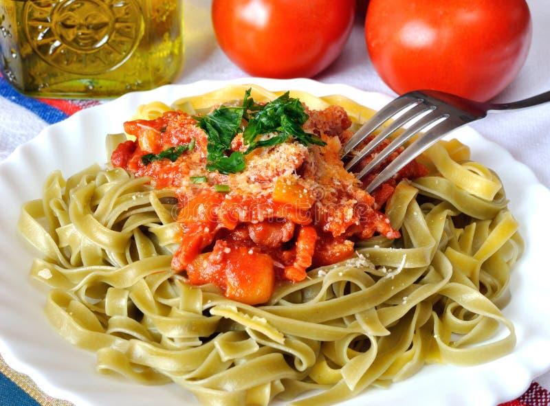 Download Tagliatelli stock image. Image of gourmet, fast, dish - 24058557