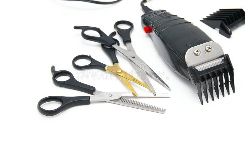 Tagliatori di capelli fotografia stock