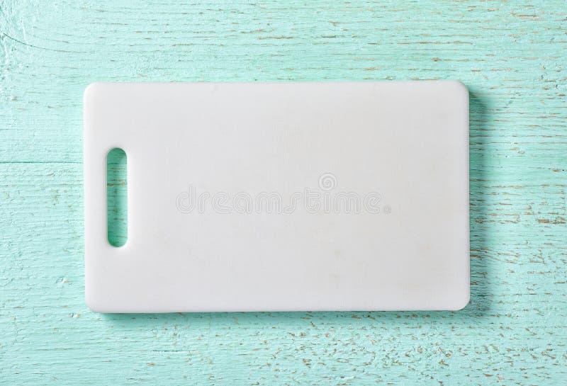 Tagliere di plastica bianco fotografie stock libere da diritti