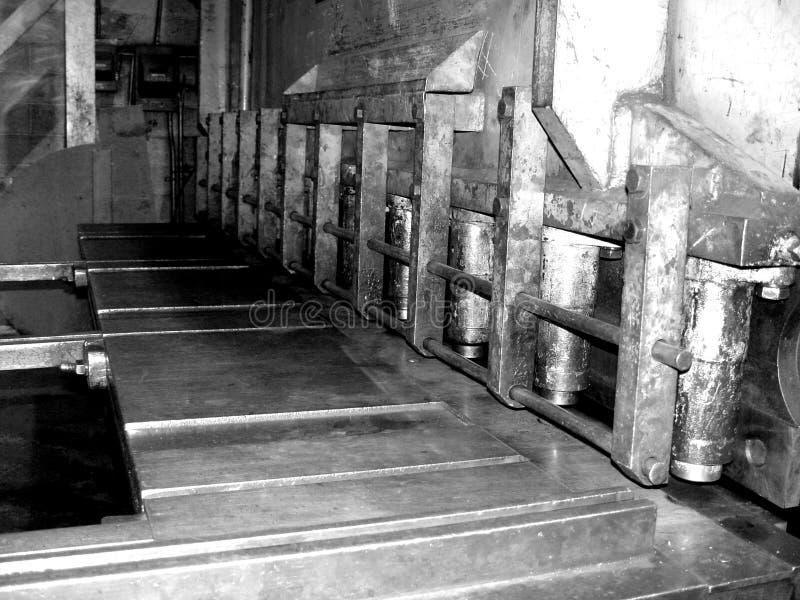 Taglierina Del Metallo Fotografia Stock Libera da Diritti