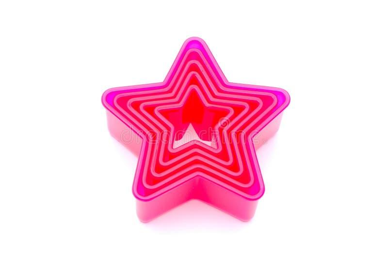Taglierine del biscotto della stella fotografia stock