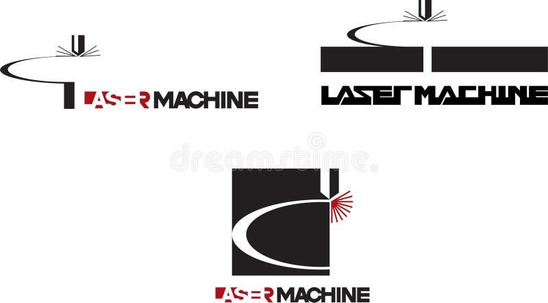 Taglio del laser, incisione fotografia stock
