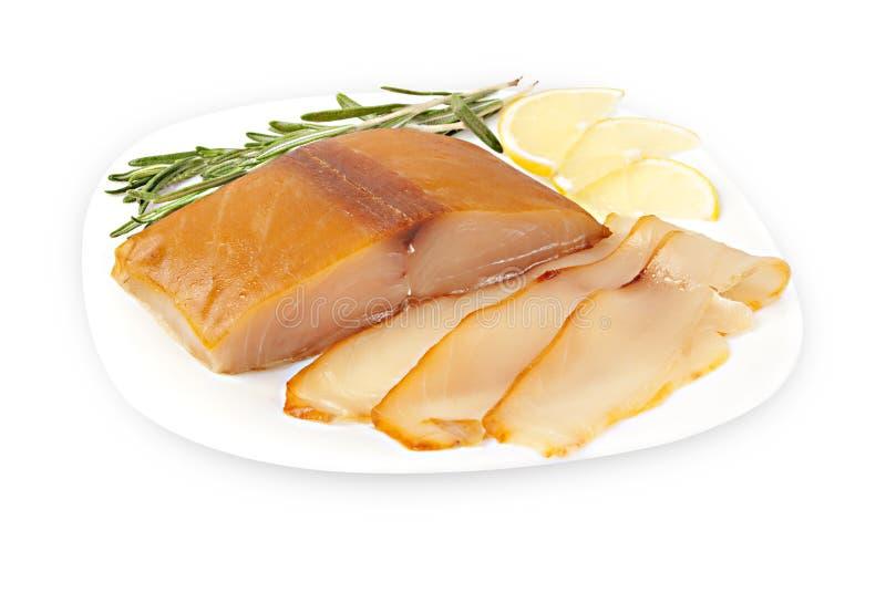 Taglio del pesce del Escolar immagine stock libera da diritti