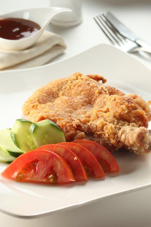 Taglio del pollo fotografia stock libera da diritti