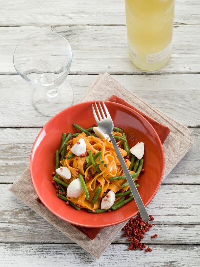 Download Taglliatelle With Mozzarella Stock Photo - Image of casserole, restaurant: 21644536