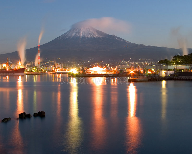 Download Tagonoura Port stock image. Image of japanese, industrial - 506427