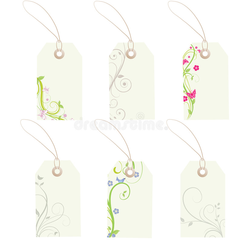 Download Tags stock vector. Illustration of discount, symbol, present - 8757723