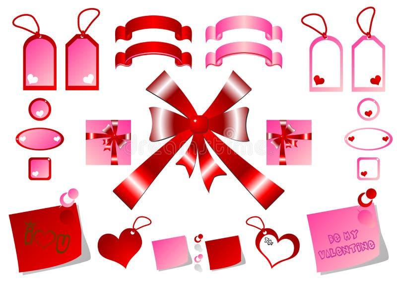 Download Tags Bows And Ribbons Royalty Free Stock Image - Image: 1641896