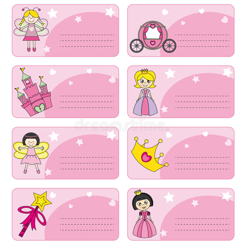 Tags princesses stock illustration