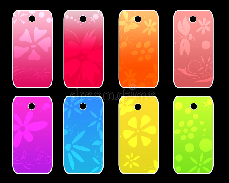 Download Tags Template Royalty Free Stock Photos - Image: 12994598
