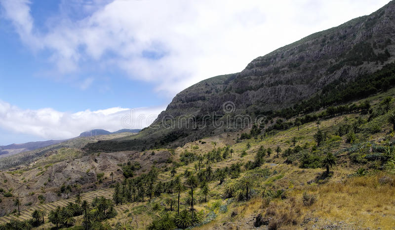 Taguluche village, La Gomera, Canary Islands stock photography