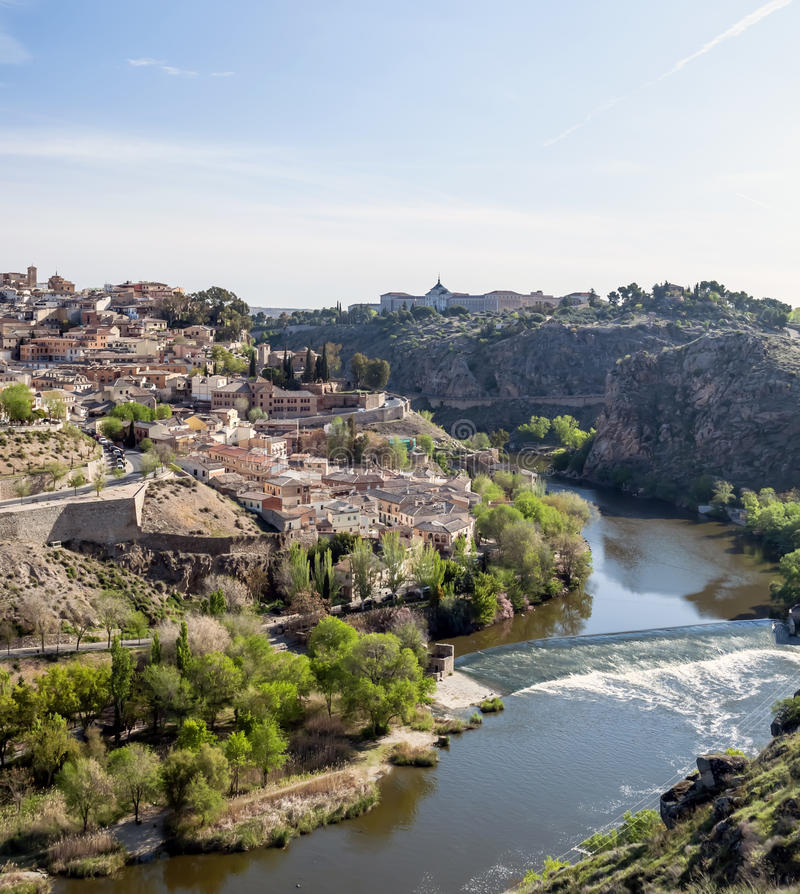 Download Tagus River in Toledo stock photo. Image of toledo, grove - 24856568