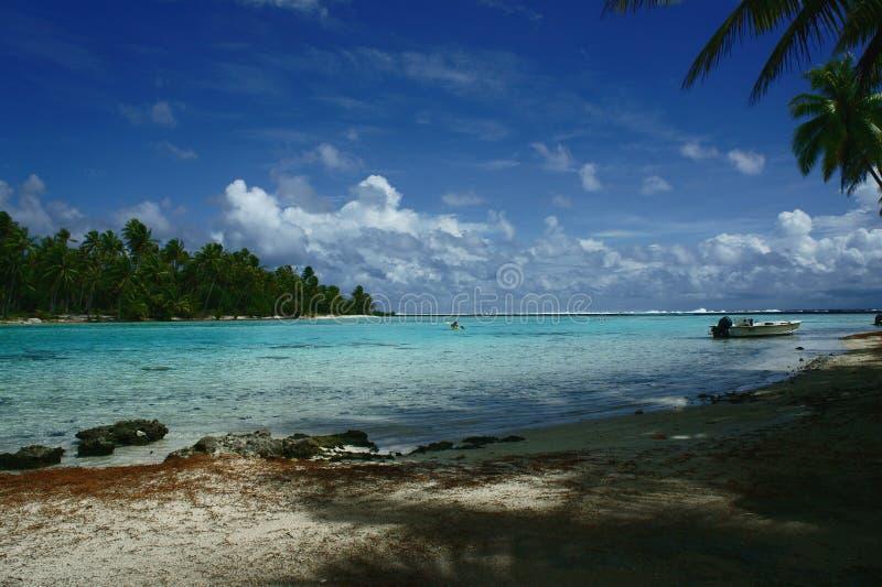 TAHAA wyspa Polynesia obraz stock