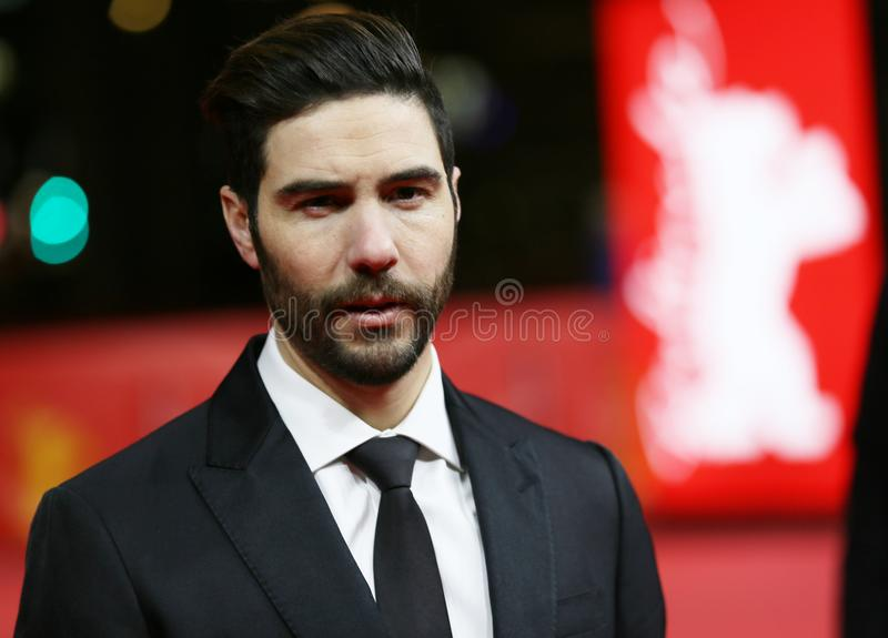 Tahar Rahim attends the `The Looming Tower` stock photo