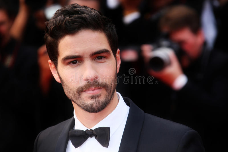 Tahar Rahim. Attends the 'Mad Max : Fury Road' Premiere during the 68th annual Cannes Film Festival on May 14, 2015 in Cannes, France stock photography