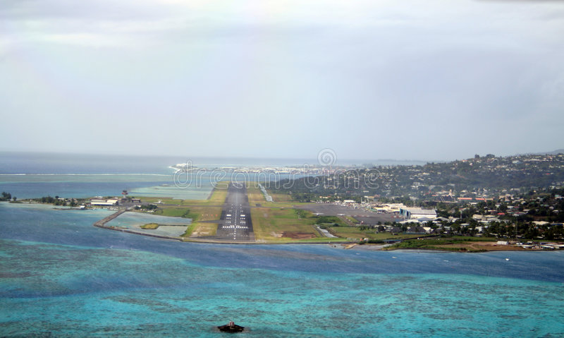Download Tahiti airport stock image. Image of vacation, french - 1147949