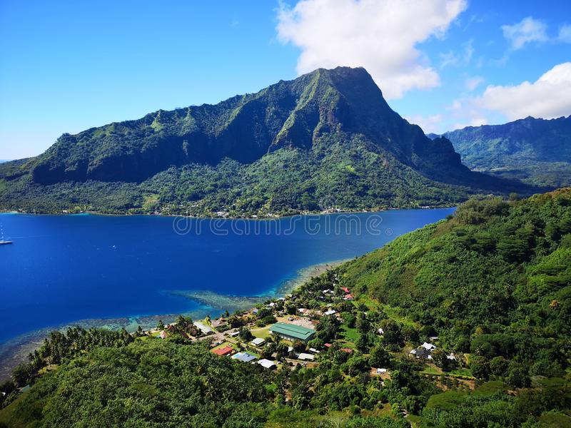 Tahiti. French Polynesia Bora Bora. French polynesia. , sky, vacation royalty free stock photo