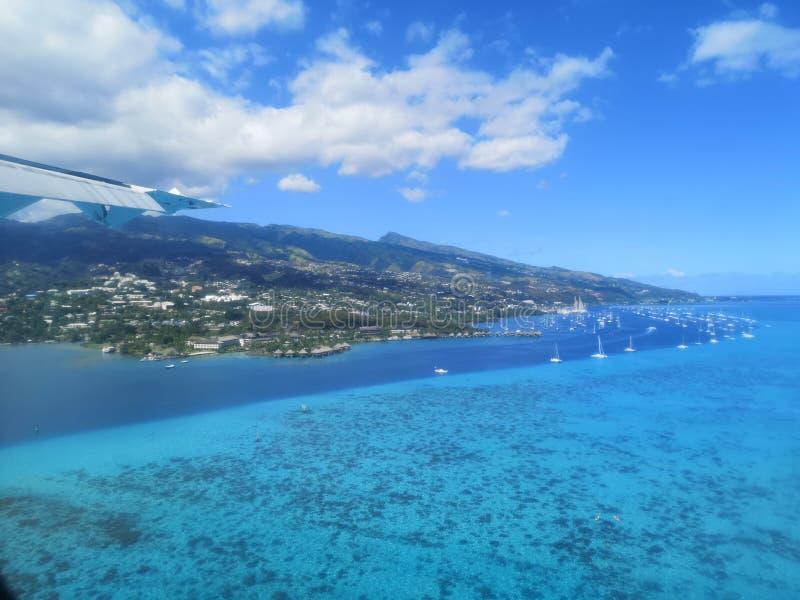 Tahiti. French Polynesia Bora Bora. French polynesia. , sky, vacation royalty free stock photos